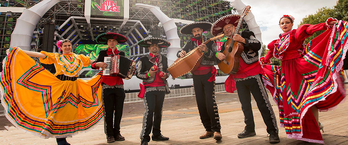Mexicaans getint Feest